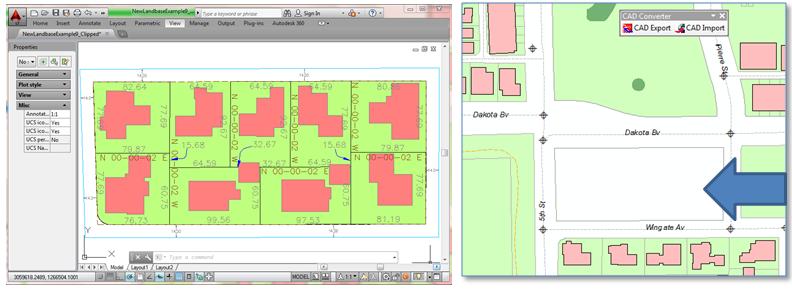 ArcGIS CAD Import