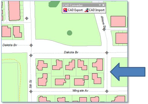 Smart ArcGIS CAD Entity Import - Blair Services