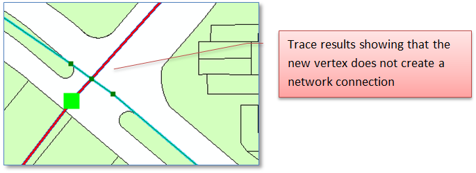 ArcGIS Geometric Network: What's Up With the Extra Vertices? - Blair