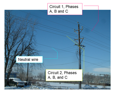 ArcGIS Utility Data Modeling Overhead Neutral Wire